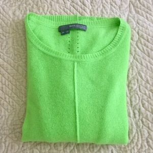 100% Cashmere Green 360 Sweater